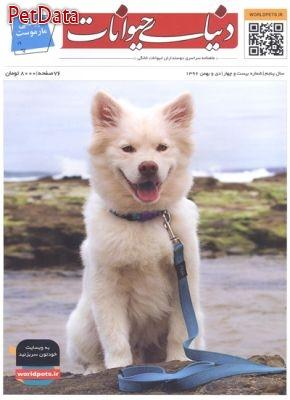 مجله دنياي حيوانات شماره بيست وچهار دي و بهمن 1396