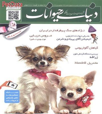 مجله دنياي حيوانات شماره بيست وپنج اسفند 1396